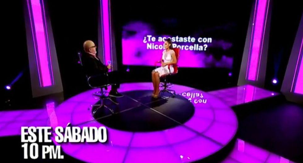 """""""El valor de la verdad"""": Alexandra Méndez, 'La Chama', se sentará este sábado en el sillón rojo. (Foto: Captura de video)"""
