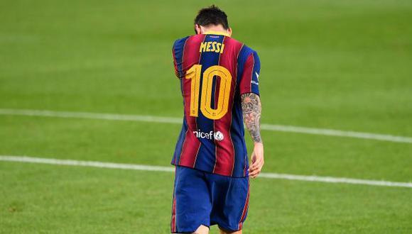 Barcelona nombró a Ansu Fati como el nuevo 10 de los azulgranas. (Foto: AFP)
