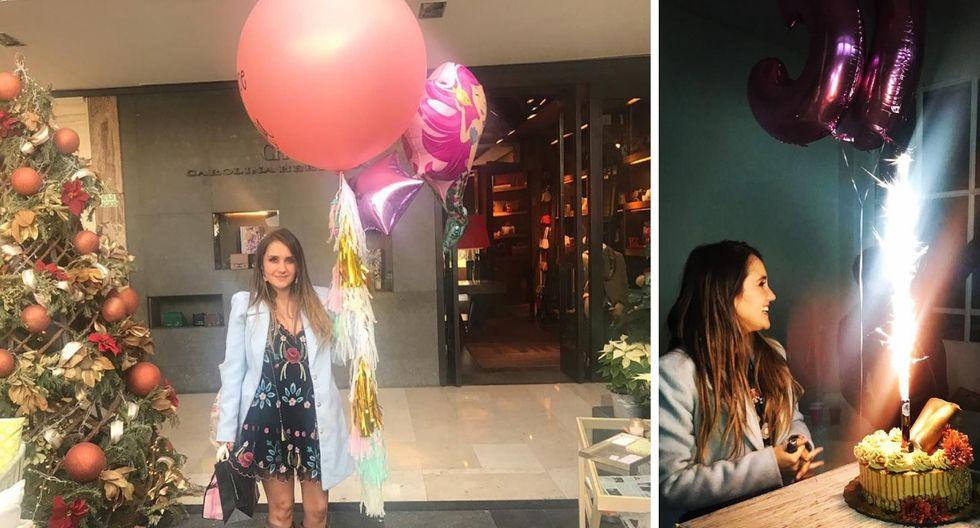 Dulce María cumplió 33 años y lo celebró así (Fotos: Instagram)