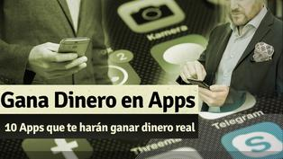 Gana dinero real con estas apps