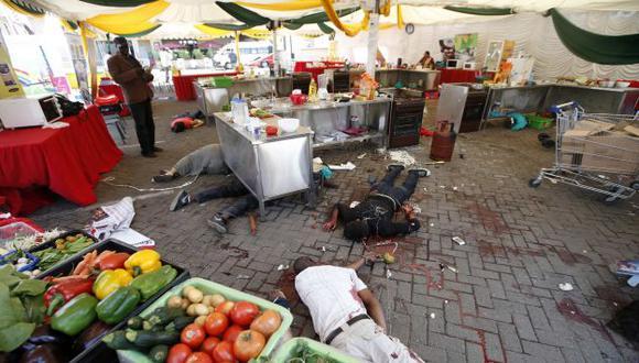 MATANZA. Número final de víctimas en centro comercial Westgate sigue siendo una incógnita. (Reuters)