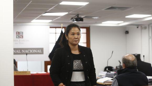 """Ayer, Fujimori —también a través de Twitter— pidió tener """"un debido proceso y una decisión justa""""  e instó a sus seguidores pasar tiempo con su familia. (GEC)"""