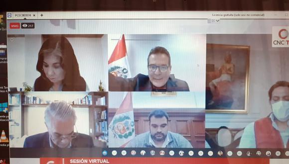 La Comisión de Constitución no llegó a un consenso sobre el dictamen de paridad y alternancia de género que se debatió hoy en una sesión virtual. (Foto: GEC)