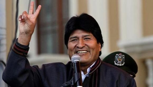 El presidente de Bolivia envió sus mejores deseos. (USI)