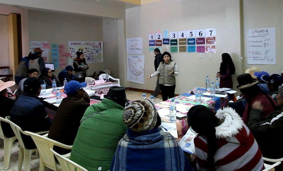 El Ministerio de Cultura recordó que se ha entregado la certificación a 1773 servidores públicos como bilingües en la lengua quechua. (Difusión)