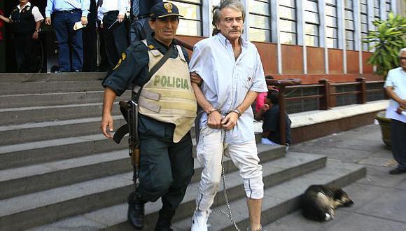 Álvarez Arrieta es trasladado al penal de Lurigancho. (USI)