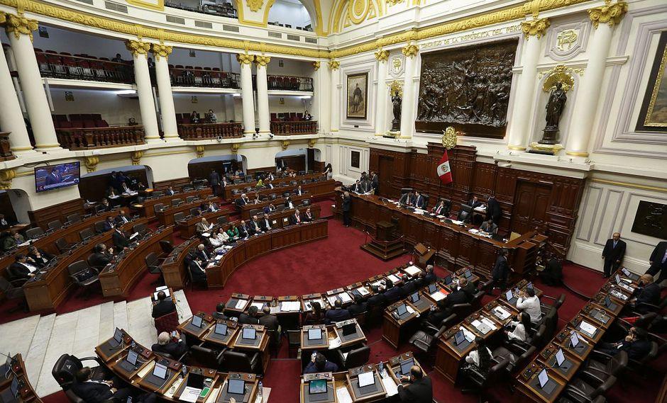 El Congreso de la República tendrá una de sus últimas sesiones del pleno de enero este miércoles. (Foto: GEC)