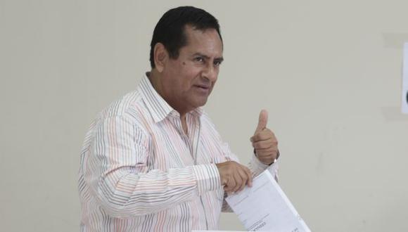 Marco Tulio Gutiérrez espera que la iniciativa se concrete vía referéndum. (Peru21)