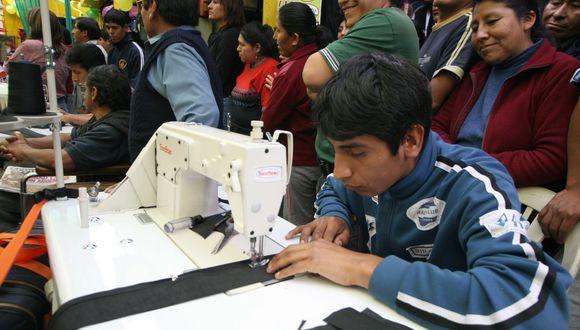 El ingreso promedio mensual proveniente del trabajo en Lima Metropolitana se ubicó en S/ 1652.0, lo que significó un aumento de 1.0%. (Foto: Andina)