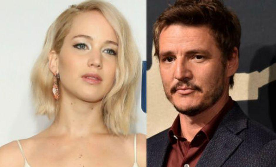 Jennifer Lawrence rescató a Pedro Pascal de ser botado de un concierto de U2 (Getty Images)