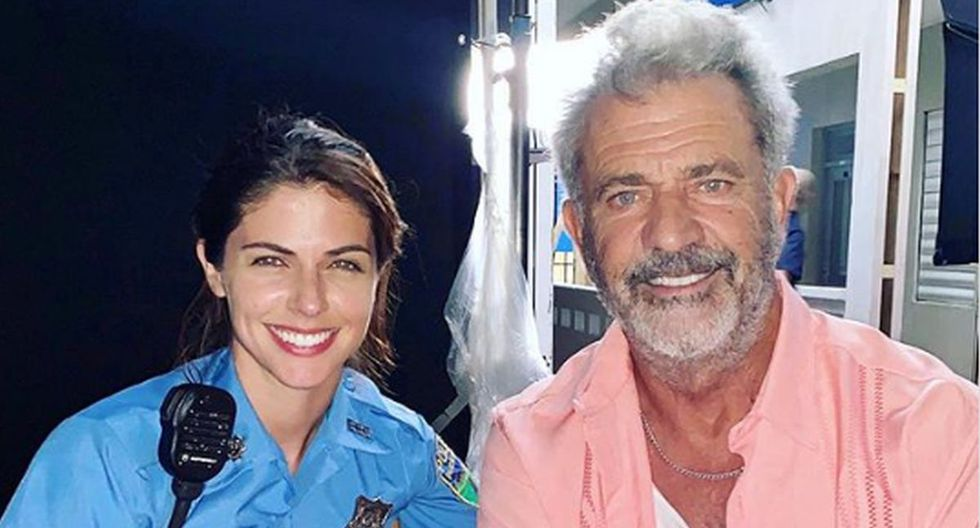 "Stephanie Cayo y Mel Gibson comparten roles en ""Force of Nature"". (Foto: Instagram)"