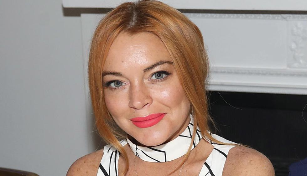 Lindsay Lohan fue descrita por varias ex parejas como una ninfomana. (Difusión)