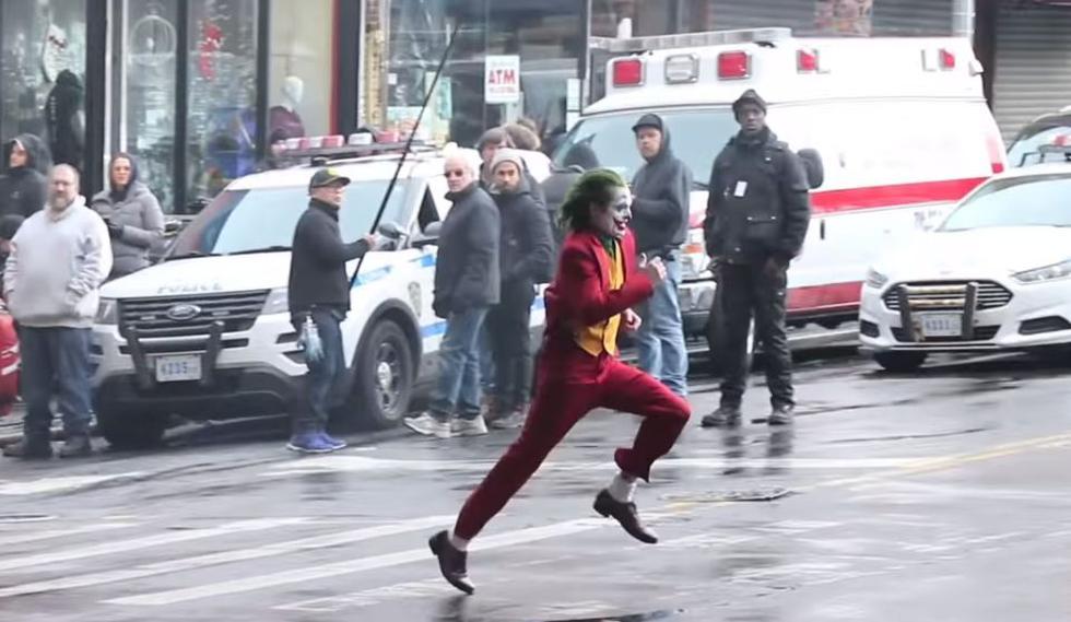 Se filtra nuevo video del set de grabación de la película 'The Joker'. (YouTube)