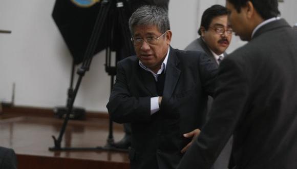 Facundo Chinguel: El último lunes pidieron 17 años de cárcel para el ex presidente de la Comisión de Gracias Presidenciales. (Mario Zapata)