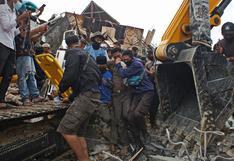 Indonesia: Buscan supervivientes tras terremoto que dejó 34 muertos y 637 heridos  [FOTOS]