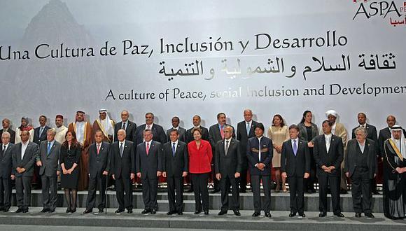 La foto oficial del cierre de la cumbre en Lima. (Alberto Orbegoso)