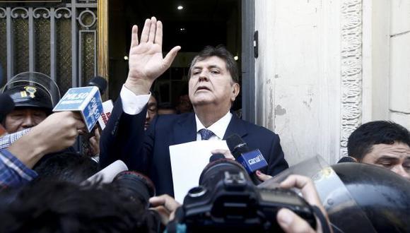 Alan García ha indicado anteriormente que él no se vende. (Renzo Salazar)