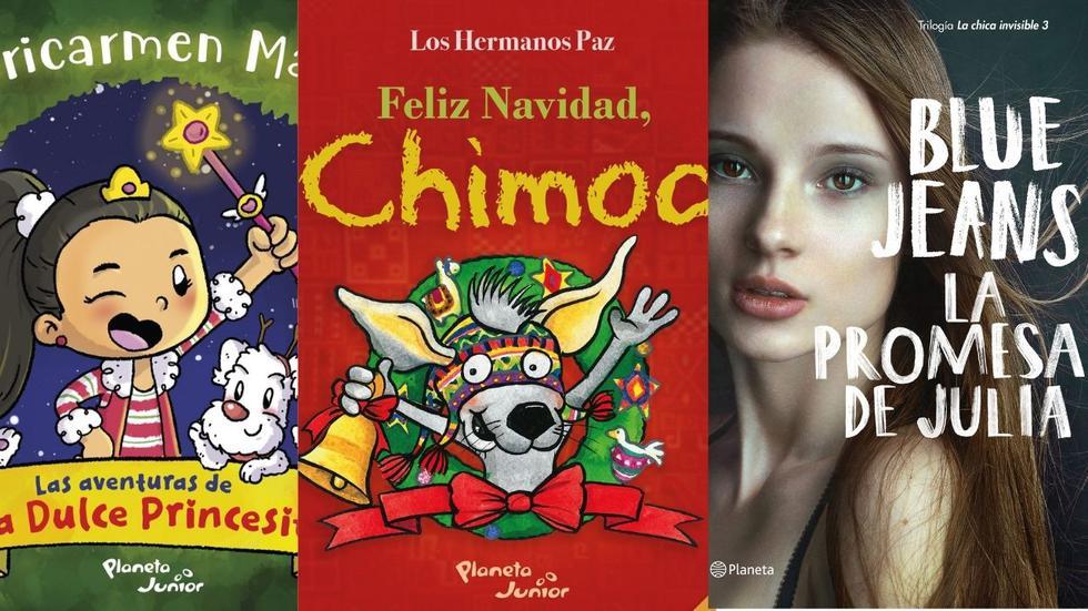 Aquí te presentamos una selección de los mejores libros para grandes y chicos, ideales para regalar esta Navidad.