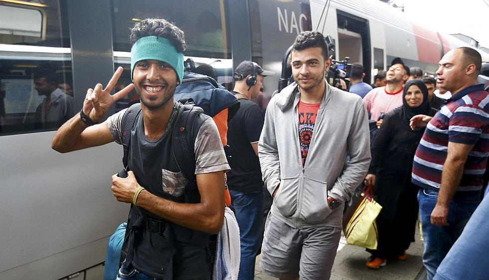 Unos 6,500 refugiados lograron llegar a Austria desde que la vecina Hungría. (Reuters)