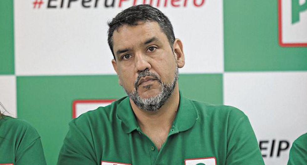 Altamirano asegura que es inocente y que no busca escudarse en la inmunidad parlamentaria. (GEC)