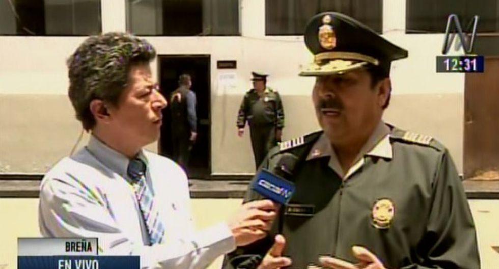 Denuncian nueva agresión contra policías en comisaria Chacra Colorada. (Captura)