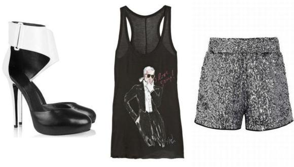 Karl, la colección masiva de Lagerfeld. (USI)