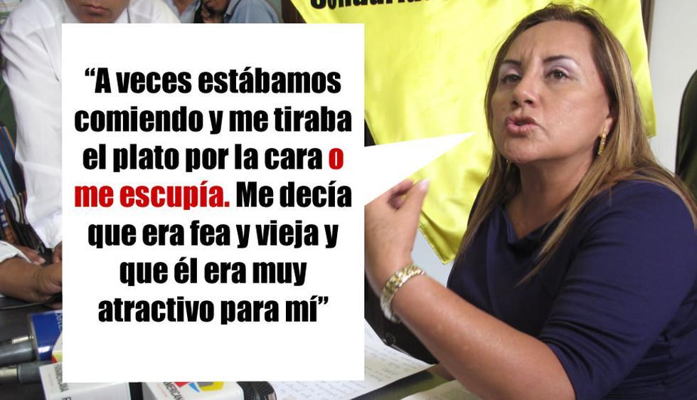 Rosa Núñez reveló que César Acuña, su exesposo, la agredió física y psicológicamente.