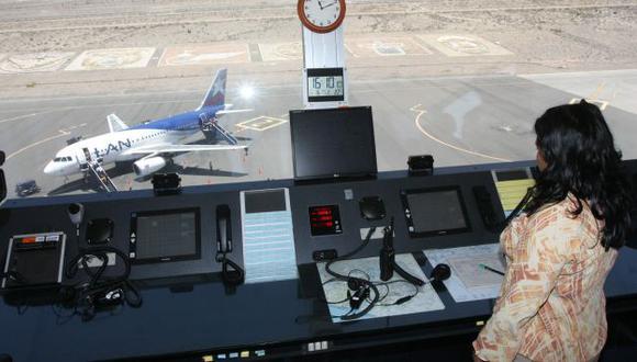 Se podría denunciar a sindicado de controladores aéreos. (Heiner Aparicio)