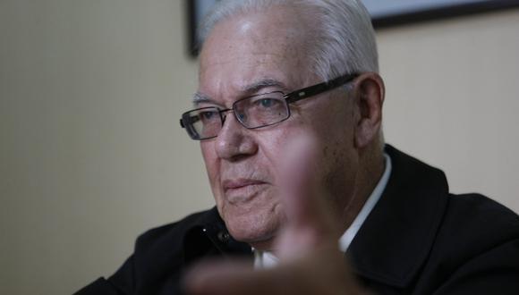 Luis Bambaren cree que está cerca el fin de la era César Álvarez. (Mario Zapata)