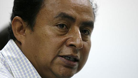 Santos confirmó pagó a ronderos y dirigentes. (USI)