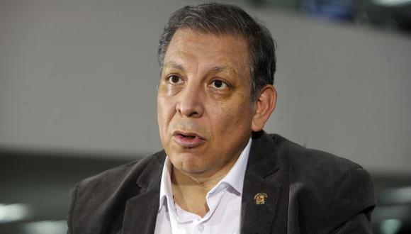 Marco Arana aseguró que el Frente Amplio asume la responsabilidad de haber votado a favor de la vacancia de Martín Vizcarra. (Foto: Rolly Reyna / El Comercio)