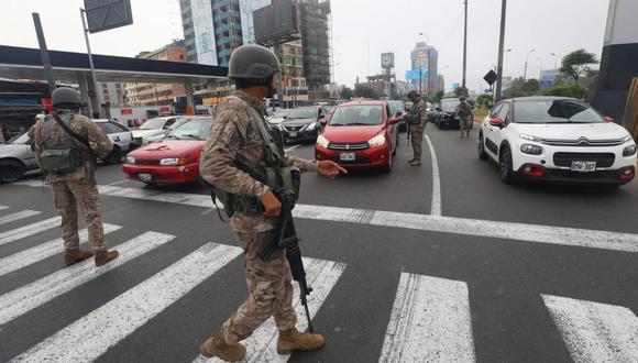 """""""Si nuestras autoridades no hubieran tomado medidas draconianas, el impacto económico en nuestro país sería fulminante y también la desobediencia civil"""". (Foto: Gonzalo Córdova /GEC)"""