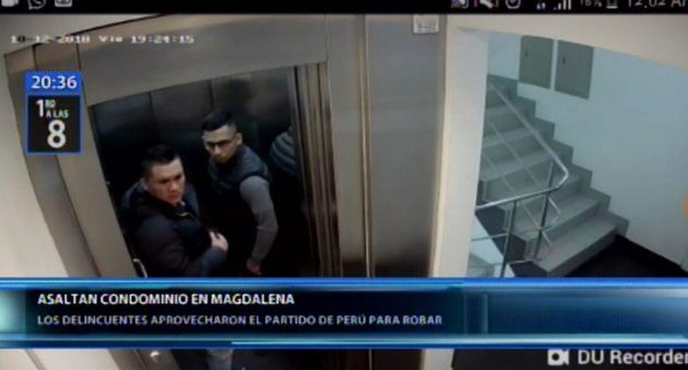 Delincuentes aprovechan el partido Perú vs. Chile para robar. (Video: Canal N)