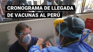 ¿Cuándo llegarán los demás lotes de la vacuna contra el COVID-19 al Perú?