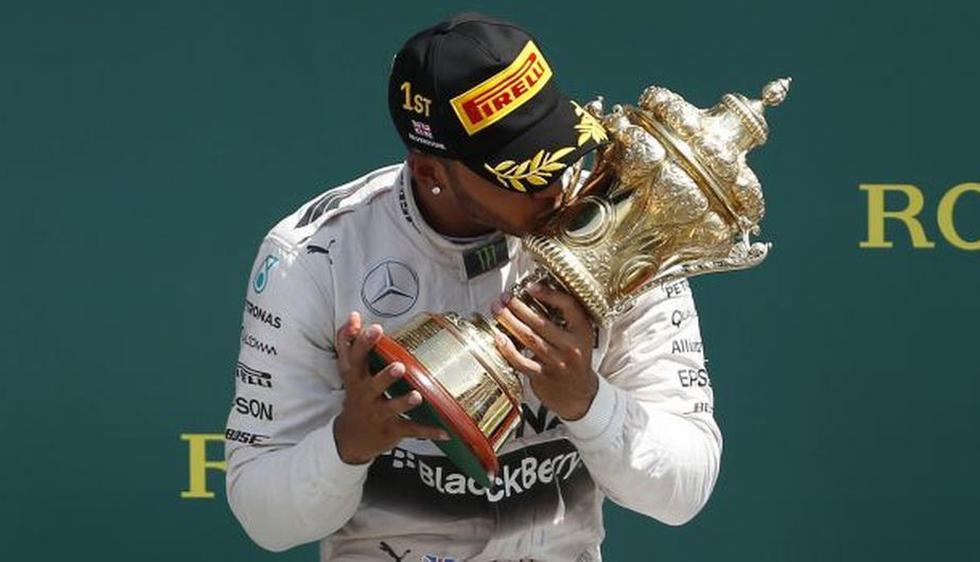 Fórmula 1: Lewis Hamilton ganó el Grand Prix de Gran Bretaña. (Reuters)