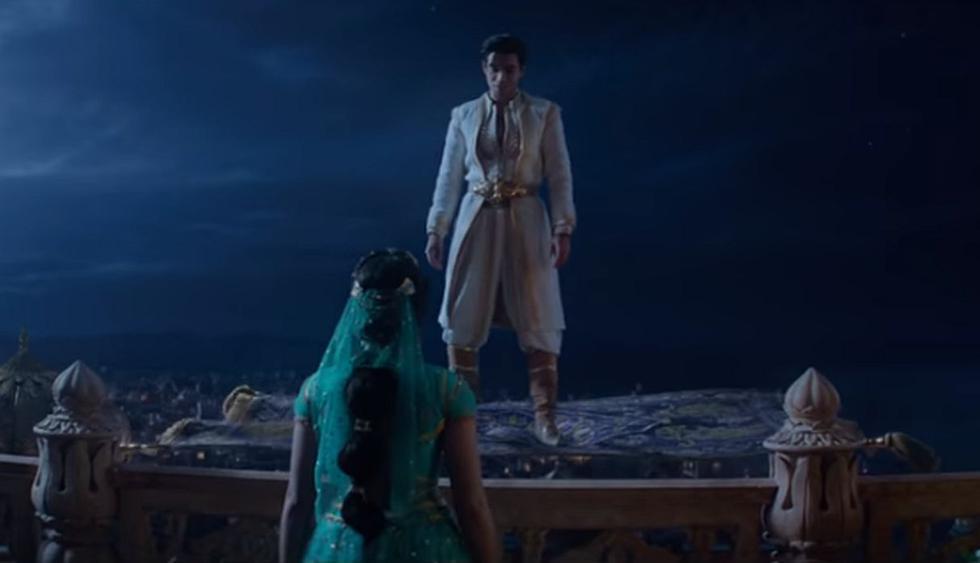 """Disney liberó nuevo adelanto de """"Aladdin"""" con escena de los protagonistas en la alfombra voladora. (Foto: Disney)"""