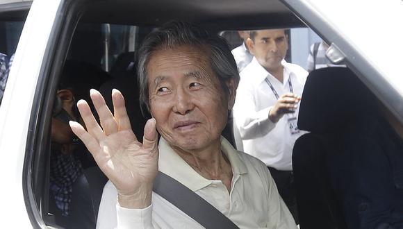 Fujimori fue trasladado al penal de Barbadillo en la Diroes en el que estuvo internado del 2007 al 2017 cumpliendo la condena de 25 años de prisión por los casos de La Cantuta y Barrios Altos. (Foto: GEC / Video: América TV)