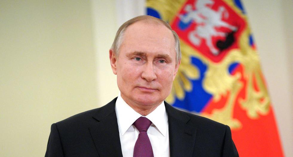 El presidente de Rusia Vladimir Putin. (Foto: Mikhail KLIMENTYEV / Sputnik / AFP).