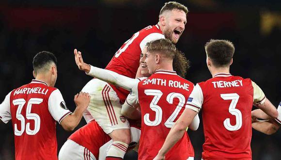 Liverpool vs. Arsenal se enfrentan en la Copa de la Liga de Inglaterra. (Foto: AFP)