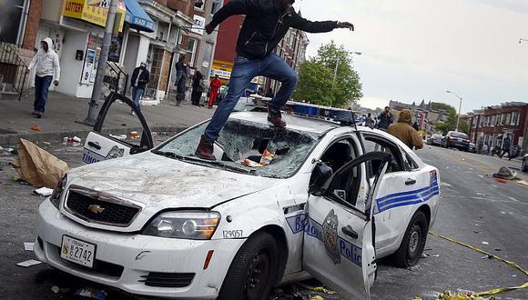 Baltimore ha sido el centro de una serie de hechos violentos durante la última semana (Reuters).
