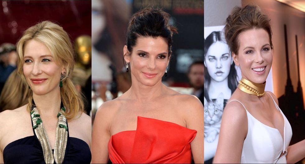 Kate Beckinsale, Cate Blanchett o Sandra Bullock son solo algunas de las famosas clientas del 'Facial de pene'. (Getty)