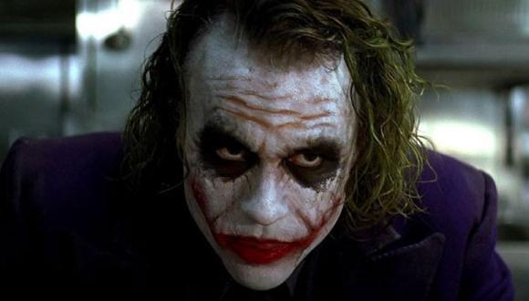 Este fue el Joker de Heath Ledger en 'El Caballero Oscuro'.