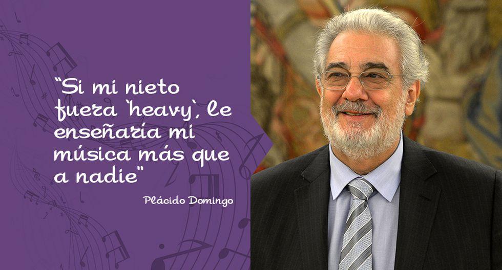 Plácido Domingo y las 10 de sus mejores frases por su cumpleaños 74. (Perú21)