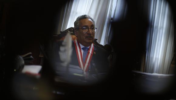 José Luis Lecaros es investigado por el delito de omisión de denuncia. (Foto: Mario Zapata / GEC)