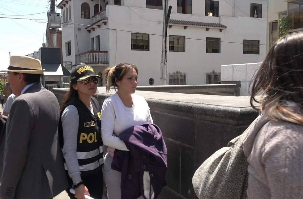 Cinthia Tello Preciado fue detenida la semana pasada.