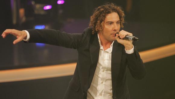 David Bisbal cantará en La voz Perú este lunes. (USI)