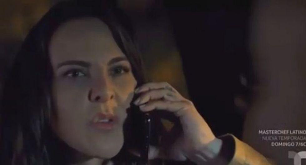 Teresa se encuentra en México y está buscando a su hoja Sofía que logró escapar de su cautiverio (Foto: Telemundo)