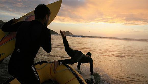 Chicama es conocida por tener una de las olas más largas del planeta. (USI)
