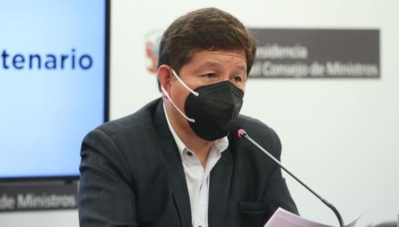 El premier Guido Bellido se defiende de críticas. (Foto: Andina)