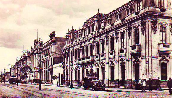 Antigua avenida La Colmena (Foto: LIMA LA ÚNICA)